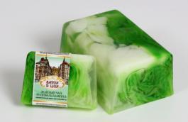 мыло зеленый чай