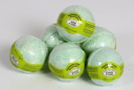 бурлящие шарики для ванн лайм и лимон