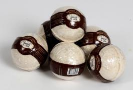 Бурлящие шарики для ванн кофе