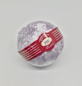 бомбочка для ванн с ежевикой, гейзер для ванн, бурлящий шар для ванн с ароматом ежевики